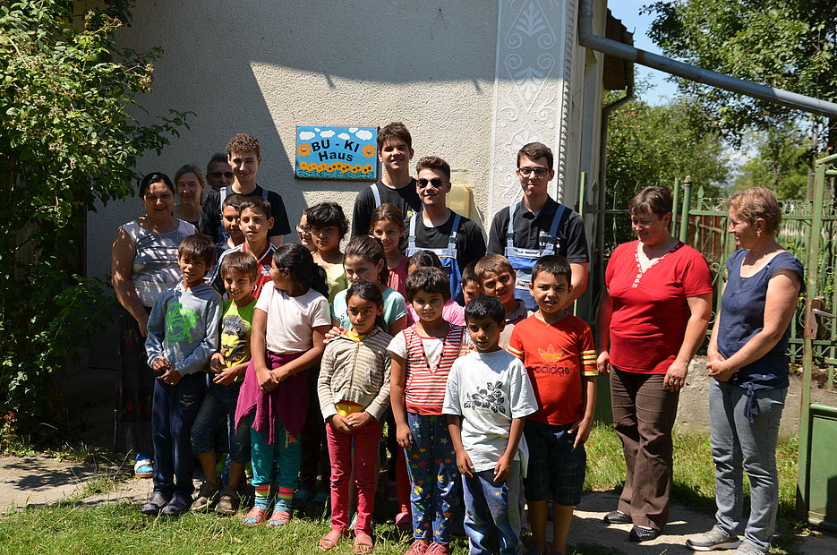 Experiences of our apprentices at children's home in Romania
